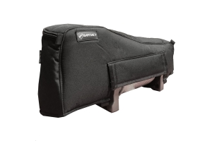 Bartact Winch Cover for Warn Zeon XD9000 Winch, Fabric Black
