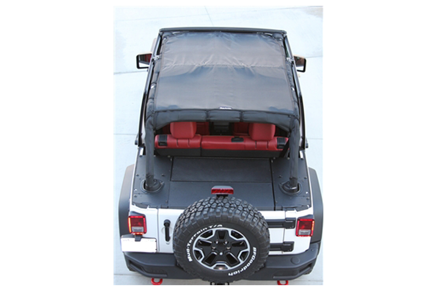 Bartact Full View Sun Shade Top Black (Part Number:JKVS07134DB)