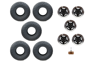 ATX Slab Wheel and NITTO Tire Package JK 2013-2014 ( Part Number: B-NITTO-PACKAGE-2)
