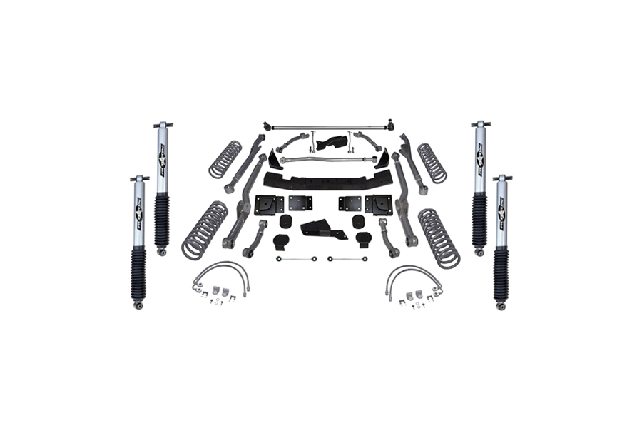 Rubicon Express 4.5in Extreme Duty Long Arm Lift Kit Mono Tube Shocks (Part Number:RE7354M)