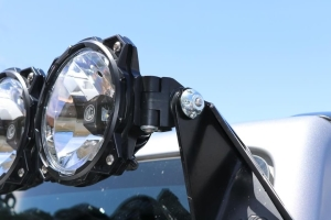 KC HiLiTES Light Lock 1/2in-20 Set