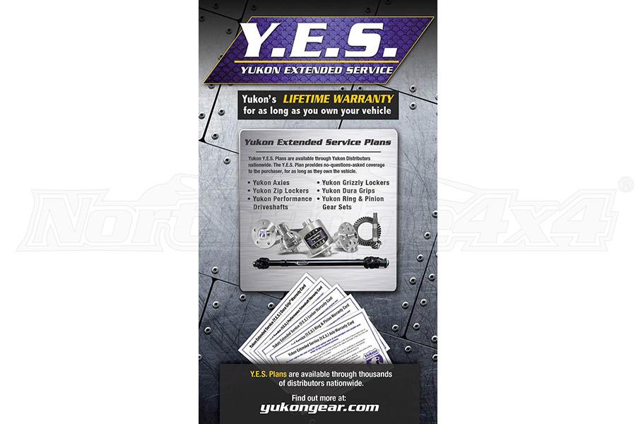 Yukon Y.E.S. Extended Service WARRANTY