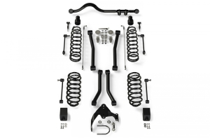 Teraflex 3in Lift Suspension System 4 Flexarms System w Track Bar - JK 2dr