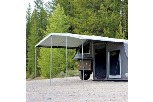 Freespirit Recreation Basecamp Series 9 ft. Awning, Light Grey (Part Number: )