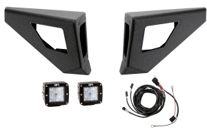 Body Armor  Pro-Series Front Winch Bumper Wings With Led Cut Outs (Part Number: )