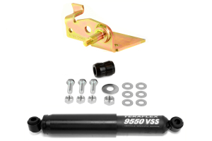 JKS Steering Stabilizer Mount Relocator and Teraflex Stabilizer Kit - JK