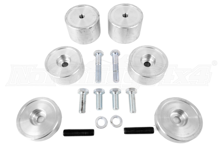 JKS Adjustable Bump Stop Kit Front - JK/LJ/TJ/XJ/YJ