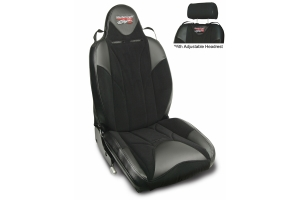 MasterCraft Baja RS DirtSport Reclining Seat w/Adj. Headrest Black/Black/Black
