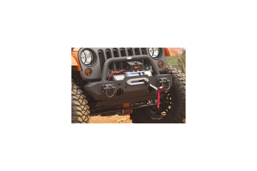 Rugged Ridge XHD Stubb Bumper Ends Front Black - JK