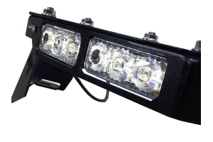 Quake LED Fender Chop Kit with DRL Swichback Turn Signal and Side Marker Light - JT/JL Rubicon