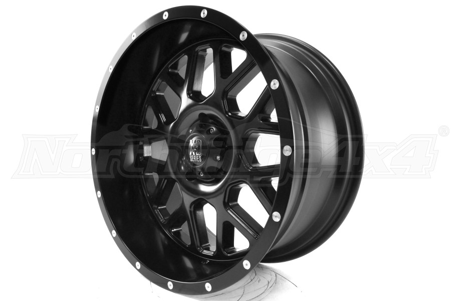 XD SERIES XD820 Grenade Wheel, Satin Black 20x10 5x5 (Part Number:XD82021050724N)