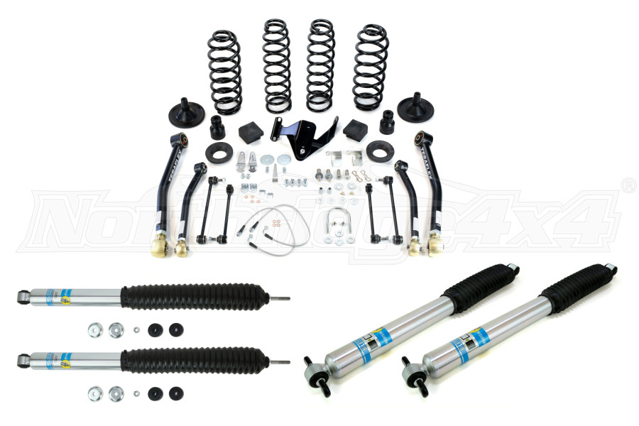 jeep jk 4dr teraflex 3in lift kit w4 control arms and