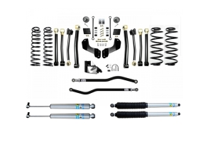 Evo Manufacturing 4.5in Enforcer Overland Stage 4 PLUS Lift Kit w/ Bilstein Shocks - JL 4Dr