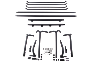 Smittybilt SRC Roof Rack Kit Black (Part Number: 76717)