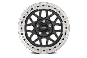 KMC Wheels KM235 Grenade Crawl Series Beadlock Wheel, 17x9 8x6.5 - Satin Black