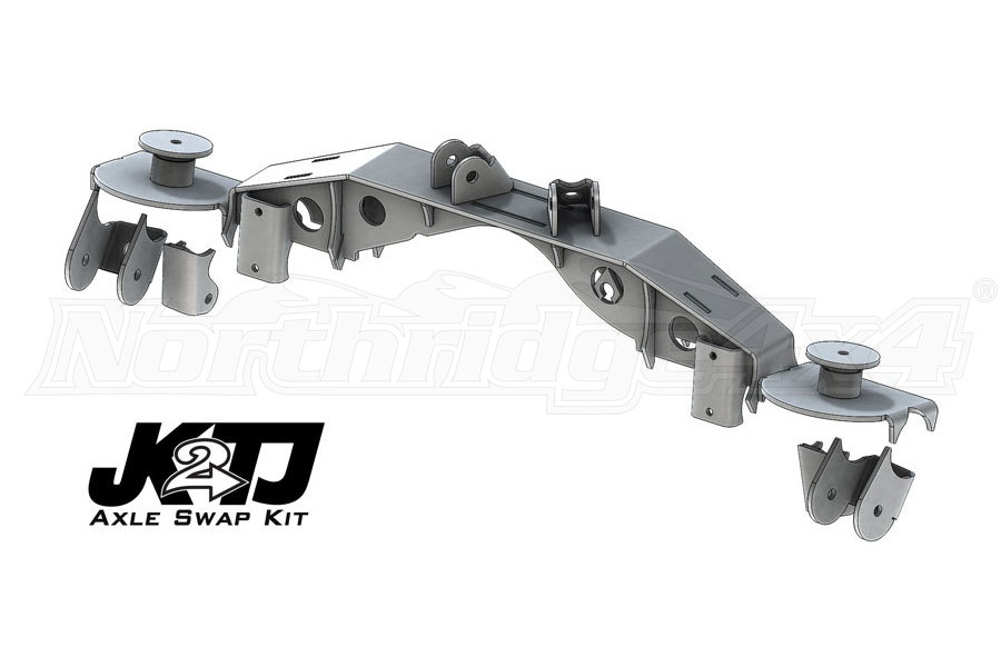 Artec Industries JK2TJ Triangulated Swap Kit w/Truss, 2.63in OEM - TJ