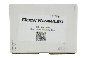 Rock Krawler Coil Spring Clips Front - JK