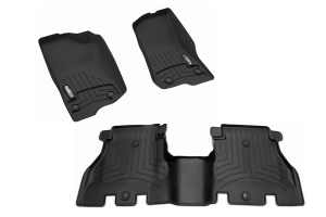 WeatherTech Front and Rear Floor Liner Package (Part Number: )