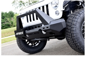 Aries Trail Chaser Jeep Front Bumper Option 2 - JK