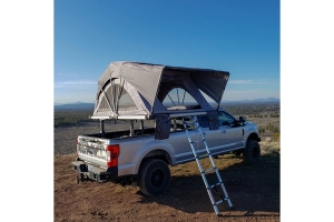 FreeSpirit Recreation High Country Series Premium 80in Roof Top Tent - Grey
