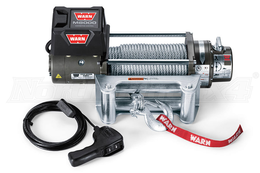 Warn M8000 Winch | 26502 - Free Shipping