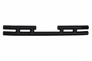 Smittybilt Tubular Rear Bumper Gloss Black (Part Number: )