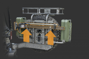 LOD Destroyer Hi-Lift Horizontal Mount Bare Steel (Part Number: )