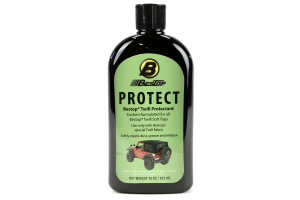 Bestop Fabric Protectant for Black Twill Soft Tops (Part Number: )