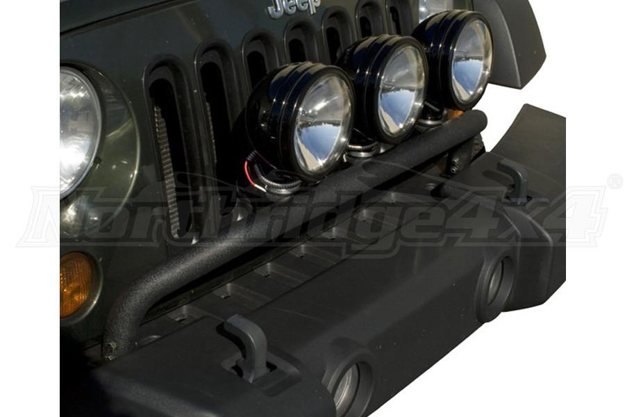 Rugged Ridge Bumper Mounted Light Bar Textured Black  (Part Number:11232.20)