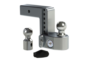 Weigh Safe 6in Drop Hitch w/ 2.5in Shaft (Part Number: )
