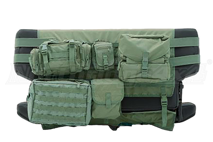 Smittybilt G.E.A.R. Rear Cargo Seat Cover  O.D. Green (Part Number:5660231)
