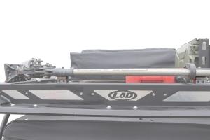 LOD Destroyer Roof Rack Hi-Lift Mounts - Pair - JL/JK