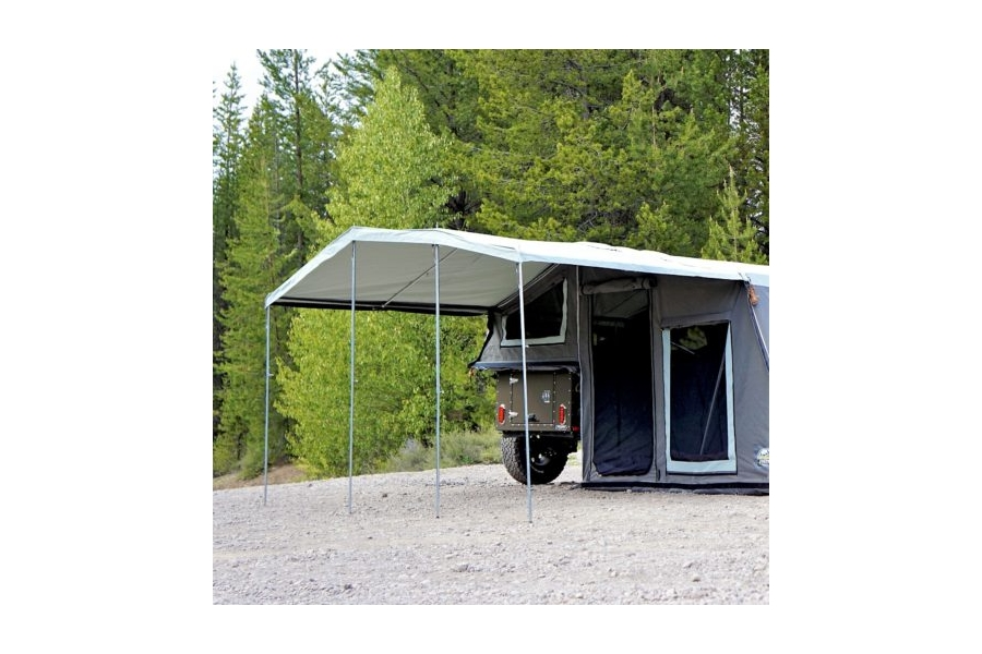 Freespirit Recreation Basecamp Series 9 ft. Awning, Light Grey (Part Number:AWBS9400)