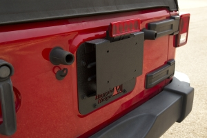 Rugged Ridge Tire Carrier Delete Kit  - JK