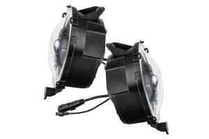 Oracle Oculus Bi-LED Projector Headlights - Graphite Metallic - JT/JL