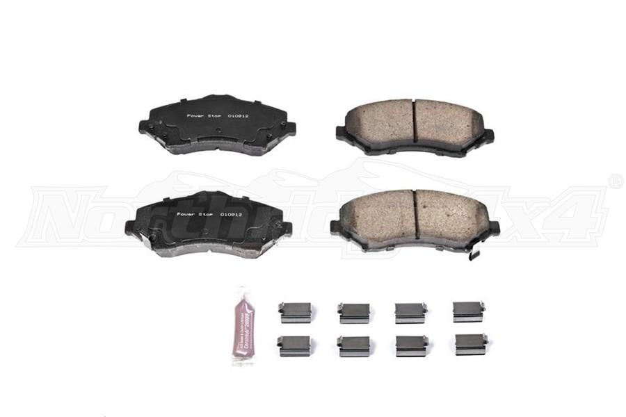 Power Stop Z23 Evolution Sport Ceramic Brake Pads, Front (Part Number:Z23-1273)