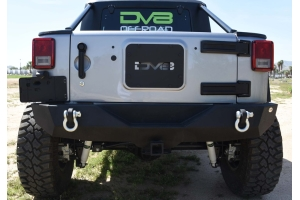 DV8 Offroad RS-4 Mid Width Rear Bumper (Part Number: )