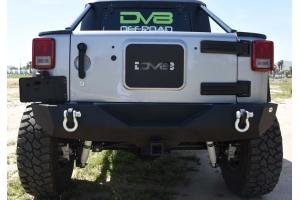 DV8 Offroad RS-4 Mid Width Rear Bumper - JK