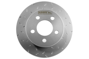 Hawk Quiet Slot Brake Rotor Front ( Part Number: HUS8742)