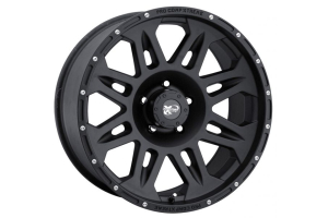 Pro Comp 7005 Series Wheel Cast Blast Finish 17x8 5x5 (Part Number: )