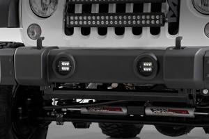 Rough Country 2in Black Series CREE LED Fog Light Kit (Part Number: )