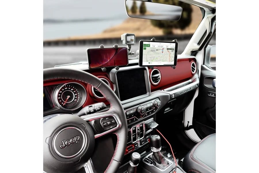 Ram Dash Mount and Accessories w/Mounting Arm and Ball - JT/JL