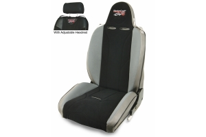 MasterCraft Baja RS Adj. Headrest Reclining Seat - Smoke/Black/Gray