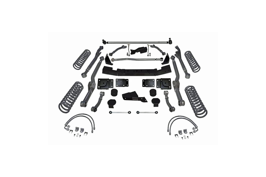Rubicon Express 4.5in Extreme Duty Long Arm Lift Kit No Shocks
