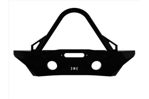 Icon Vehicle Dynamics Pro Series Mid-Width Recessed Winch Front Bumper - JK