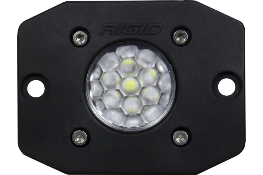 Rigid Industries Ignite Diffused Flush Mount, Black (Part Number:20631)