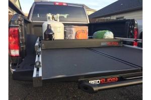 BedSlide BedBin Deck Divider, Black - 7in x 44in