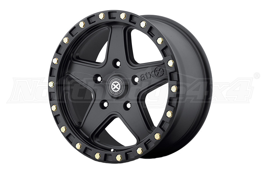 ATX Wheels 194 RAVINE Textured Black 17X8.5 5x4.5 (Part Number:AX19478512610)