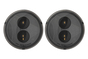 JW Speaker 239 J2 Series, 3.5in Round LED Turn Signal Light Kit, Smoke - JK