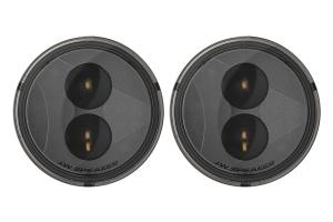 JW Speaker 239 J2 Series, 3.5in Round LED Light Kit, Smoke ( Part Number: 0346503)